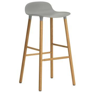 normann-copenhagen-form-stool-barkruk-75cm-eiken-onderstel-grijs-1