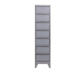 metalen-lockerkast-max-7-kleppen-vintage-grijs-woood-vintage-grijs