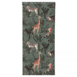 Sfeervol vliesbehang in multicolor. Normaal afwasbaar. Plakken met Perfax Roll-On. 10 meter per rol. Verspringend patroon.