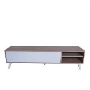 Symbiosis TV-meubel Heidal - eikenkleur/wit - 43
