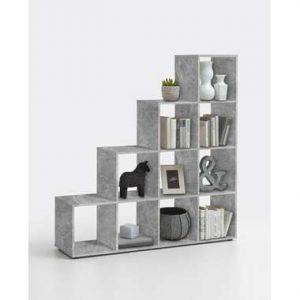 Roomdivider Mega 10 vakken - betonkleur - 138