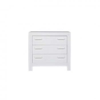 Woood commode New Life - wit - 91x95x52 cm - Leen Bakker