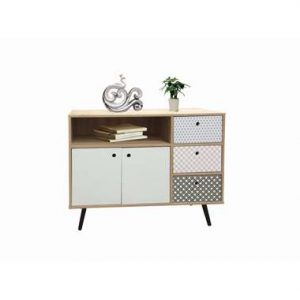 Dressoir Azoia - whitewash - 77x106