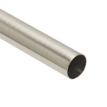Metalen roede met RVS kleur. 240 cm lang.