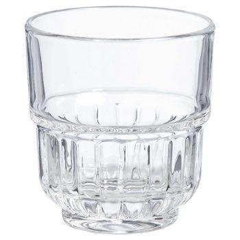 Stapelbaar drinkglas transparant. 8