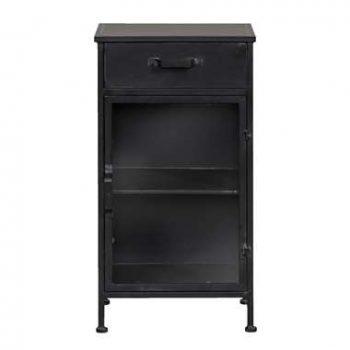 Kast Jayden - zwart - 78x45x32
