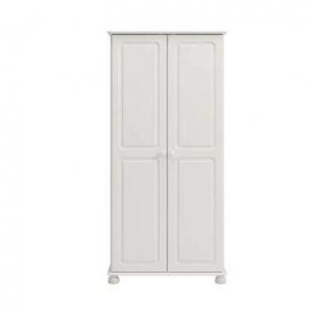 Kledingkast Richmond 2-deurs - wit - 185