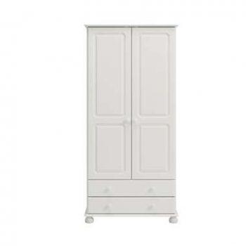 Kledingkast Richmond 2 deuren/2 lades - wit - 185
