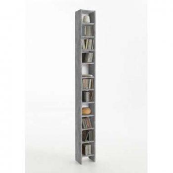 CD/DVD kast Hallo - betonkleur - 19