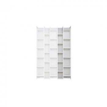 Woood uitbreiding vakkenkast Expand - wit - 200x50x35cm - Leen Bakker
