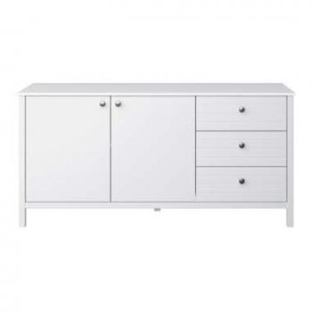 Dressoir New Jersey - wit - 73x150x45 cm - Leen Bakker