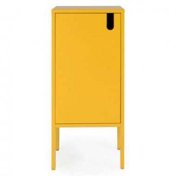 Tenzo wandkast Uno 1-deurs - mosterd - 89x40x40 cm - Leen Bakker