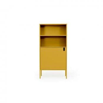 Tenzo wandkast Uno 1-deurs - mosterd - 152x76x40 cm - Leen Bakker