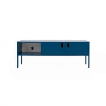 Tenzo tv-meubel Uno 2-deurs - petrol - 50x137x40 cm - Leen Bakker