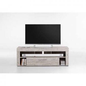Tv-meubel Glendale - grijs eikenkleur - 150x41x53 cm - Leen Bakker