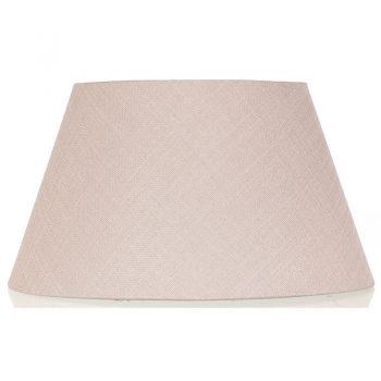 Stijlvolle linnen lampenkap Judy vierkant. Kleur: oudroze. Afmeting: 20 x 20 cm.