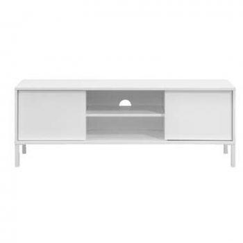 Tv-dressoir Salerno - hoogglans wit - 49x139x43 cm - Leen Bakker