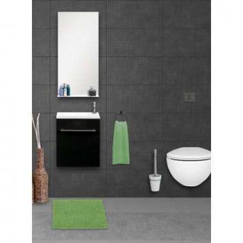 Differnz badkamermeubel Tight - zwart - 40 cm - Leen Bakker