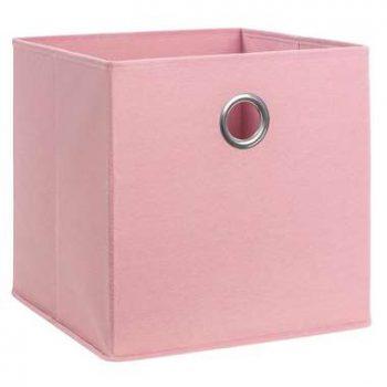 Opbergbox Parijs - blush - 31x31x31 cm - Leen Bakker